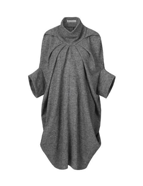 Ita jakke kjole lysegrå af Johanne Rubinstein