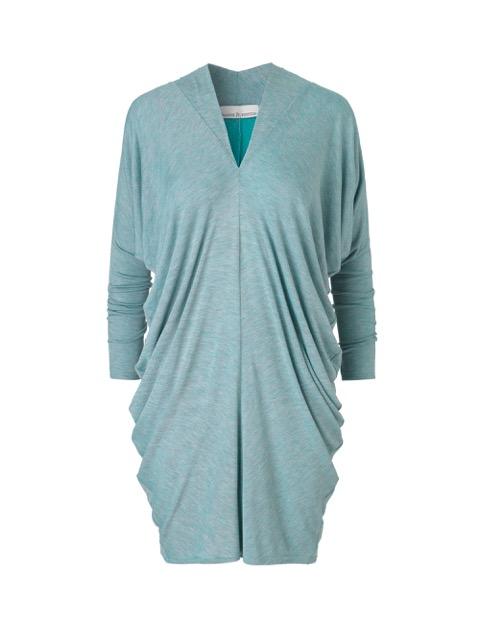 Pernille kjole i turkis af Johanne Rubinstein