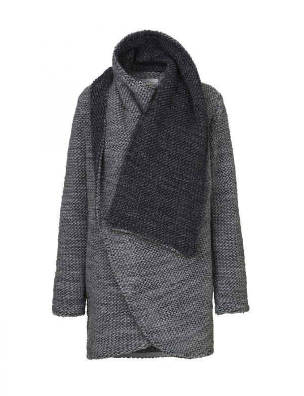 Edna sweater grå af Johanne Rubinstein