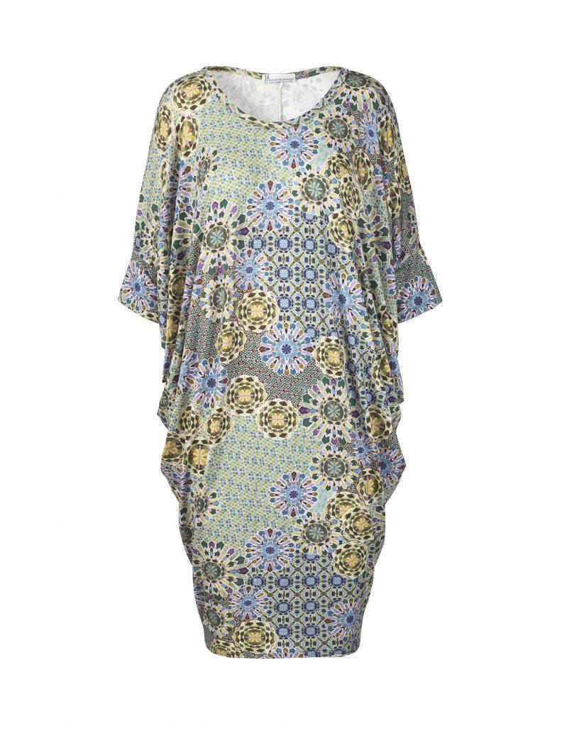Laura dress med blomster mønster af Johanne Rubinstein