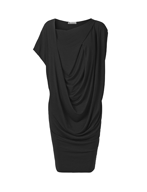 Lotte dress in black by Johanne Rubinstein