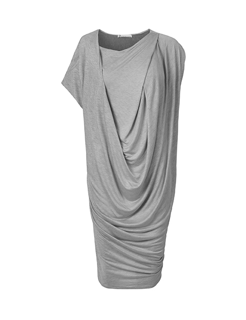Lotte dress in grey by Johanne Rubinstein