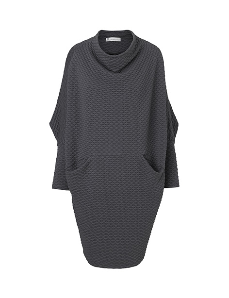 Maja dress gray by Johanne Rubinstein