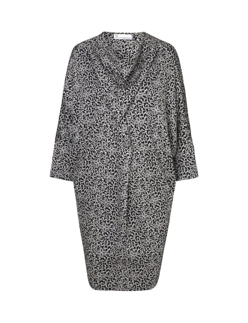 sidsel kjole mønstret udsalg